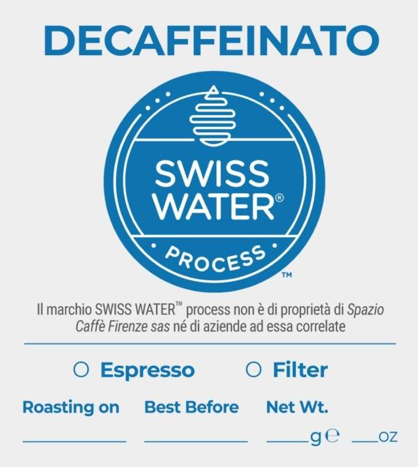 Decaffeinato SWISS WATER